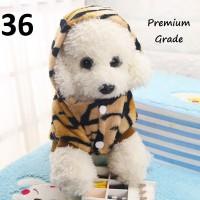 Harga hobi baru baju hewan kostum anjing kucing motif harimau pet fashion | antitipu.com