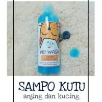 Harga hobi shampoo kutu anjing kucing bisa untuk caplak dan | antitipu.com