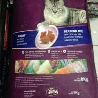 Hobi makanan-kucing Murah , Blisk cat food 8kg sekelas whiskas