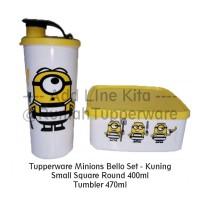 Jual Tupperware Minion Set - Kuning Murah