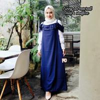 Jual Baju muslim gamis lizzy set overall murah Murah