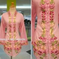 Jual atasan blouse muslim / kebaya katun / kebaya panjang / kebaya bordir Murah