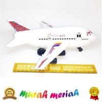 Pesawat terbang boeing mainan anak minitur bukan remot control