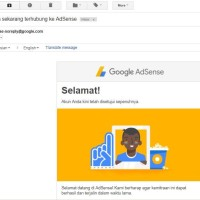 Rare Akun Google Adsense Indonesia Fresh ID (Non Hosted Full Approved)