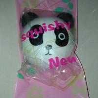 Jual Squishy Lucu Panda Head Vlampo Love Kepala Panda UNIK MURAH Murah