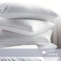 Jual Paket 1 Bantal + 1 Guling Tidur LAZY Sunday , BEST DEAL !! Top Quality Murah