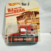 "hot wheels diecast Thunder Roller ""BJ & The Bear"""