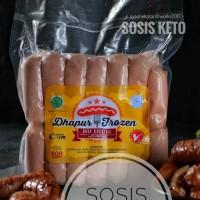 Jual Sosis Keto COCKTAIL BEEF / SAPI 500gr - Ketofastosis Diet Frozen Food Murah