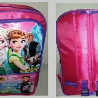 Jual Tas Sekolah Anak Frozen + Pelindung Hujan / Rain Cover Tas Murah