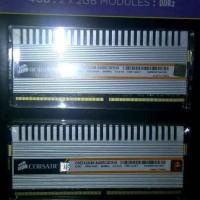 Jual MEMORY RAM CORSAIR DDR2 4GB (2X2GB) Murah