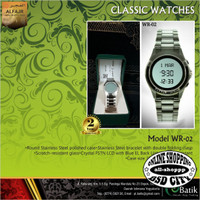 Jam Tangan Digital Pria AL FAJR WR-02 Casual dan Elegant