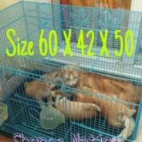 Jual kandang kucing / kelinci / burung / hamster / SG / musang Size L Murah