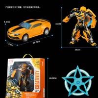 Jual Transformer 4 AOE Bumblee Bee Oversize-Diecast merk Weijiang Murah