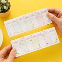 Jual Weekly Plan Sticky Memo Pad (Catatan Tempel) Murah