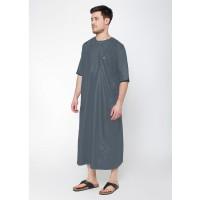 Jual JUBAH ARABI - Pakaian Gamis Muslim Pria Lengan Pendek Warna Al-Isra Murah