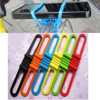 Jual Silicone Strap Bike Bracket Mount Holder Flashlight Senter Sepeda -1 Murah