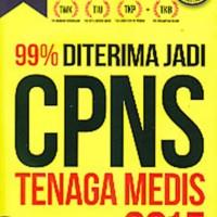 BUKU 99% DITERIMA JADI CPNS TENAGA MEDIS 2015- BONUS CD - NAUVAL ZIDN