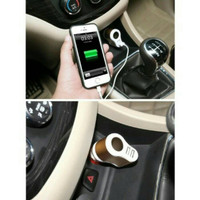 Jual PROMO Car Charger Power 3in1 with Cigarette Lighter Port + 2 USB Murah