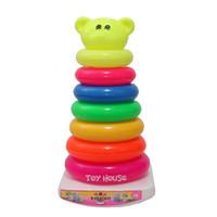Jual PROMO Mainan Anak Ring Donat 7 Pcs - Mainan Edukatif Murah