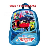 Tas Ransel Sekolah Air Planes untuk Anak - Anak Ready Stock