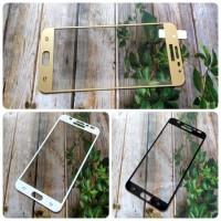 Jual Tempered Glass Full Warna Samsung Galaxy J7 Prime Murah
