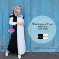 Jual Dress murah : Monochrome Maxy Premium Murah