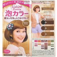 Prettia Liese Bubble Hair Milk Tea Brown pewarna rambut