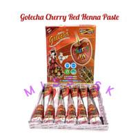 Jual [BOX isi 12] Cherry Golecha Cone Henna Paste / Henna Art (KC) Murah