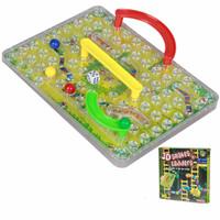 Mainan Ular Tangga 3D, mainan ular dan tangga 3D
