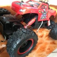 RC Rock Crawler Jeep Off Road 4x4 Big Red Skala 1:12