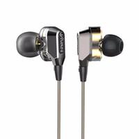 Jual  [PROMO]  Vivan Headset Ve-D80 Dual Speaker Wired Headset Gray  - TSP2 Murah