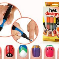 Jual Produk tercantik 6 Color Starter Kit Hot Design Nail Art Basic Kit - Murah