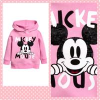 Sweater Sweat Shirt Girls Mickey Mouse Merk H&M