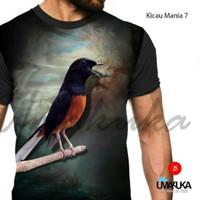 harga Kicau Mania 7 Murai Batu Medan Kaos 3d Fullprint Umakuka Tokopedia.com