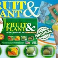 Jual Obat Pelangsing Badan Original Fruit & Plant / Original Pelangsing Murah