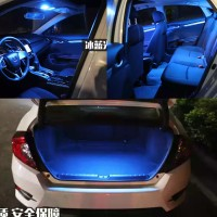 HONDA CIVIC TURBO 2016-UP ICE BLUE LED INTERIOR COOL LIGHT FOR READING