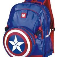 Jual Tas ransel anak Captain America Marvel - Ori Murah