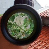 Jual Sniper Teropong Scope Zoom Bushnell 3-9x40 0E Marking MURAH BU Murah