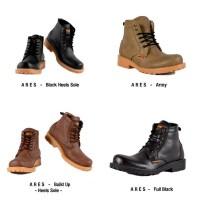 Sepatu Boots Pria Humm3r Ares Heels Sole