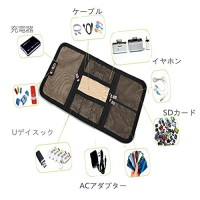 Case Waterproof Travel for Flashdisk Hardisk Card Cable Earphone Etc