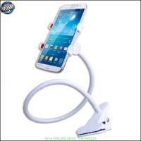 Jual Lazy / lazypod Mobile Phone Monopod holder hp jepit meja  White Y1509 Murah