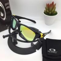 Kacamata Oakley Jupiter Squared VR46 Fire Lens Kacamata Pria Polarized
