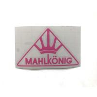 MAHLKONIG Logo Cutting Sticker Small Pink (2 units)