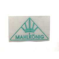 MAHLKONIG Logo Cutting Sticker Small Mint (2 units)