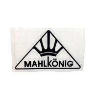 MAHLKONIG Logo Cutting Sticker Small Black (2 units)
