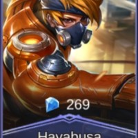 Jual Skin Mobile Legends Hayabusa Spacetime Shadow [Non Fisik] Murah