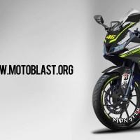 Decal stiker Yamaha R15 V3 Monster  FULLBODY + Stiker Velg