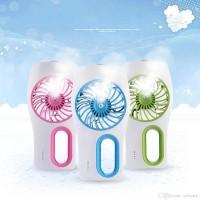 Jual Portable 3 Speeds Mini USB Rechargeable Cooling Replenishment Fan Murah