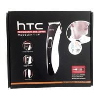 Jual HTC AT-738 Professional Rechargeable Hair Clipper with Power Display Murah