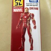 Jual Tomica / Takara Tomy, Iron Man Mark 46, Captain America Civil War Murah